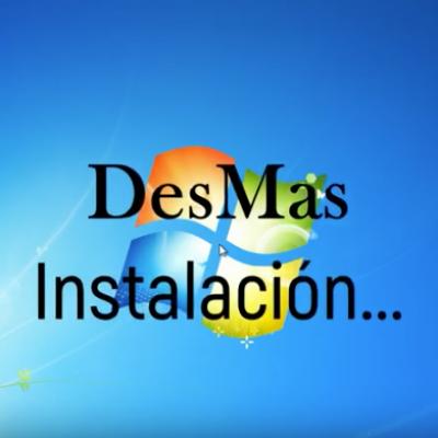 Instalando DESMAS 1.5.0.2, serial y licencia.